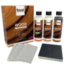 Royal Natural Wood Sealer - Wood Care Kit (3x250ml)